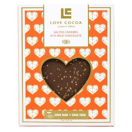 Love Cocoa - Melkesjokolade Salt karamell