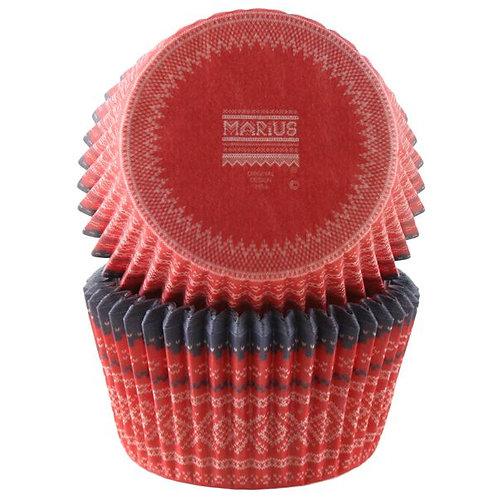 Cacas - Muffinsform marius rød
