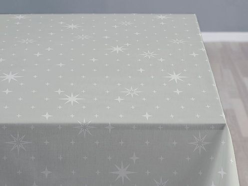 Södahl - Duk damask 140x220cm stella grey