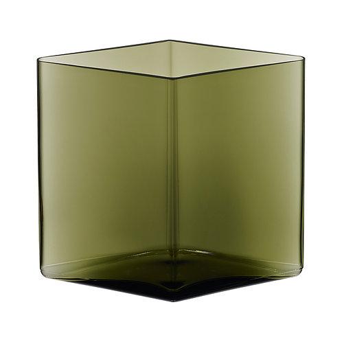 Iittala - Ruutu vase mosegrønn