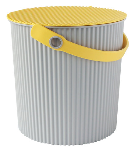 Hachiman Omnioutil - Bøtte stor 20L grå / gul