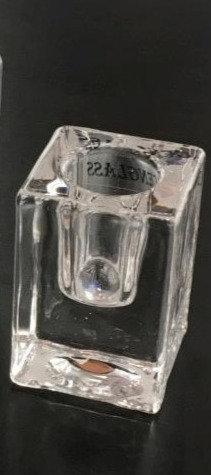 Borg - Lysestake glass 4x6cm