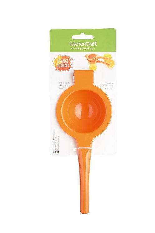 KitchenCraft - Appelsinpresse oransje