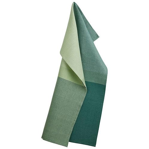 Georg Jensen Damask - Kjøkkenhåndkle Colourblock jade green