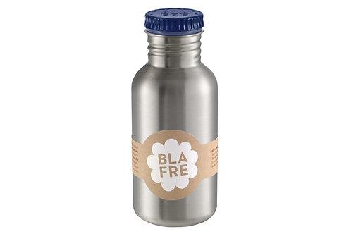 Blafre - Stålflaske 500ml marineblå