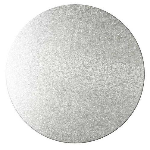Cacas - Kakebrett rundt sølv 30cm 2pk