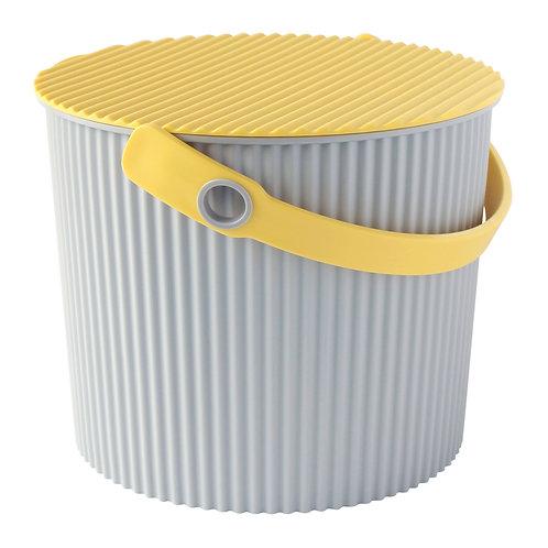 Hachiman Omnioutil - Bøtte liten 8L grå / gul