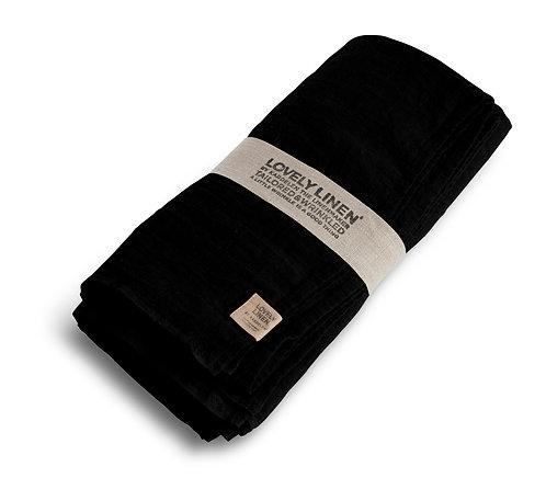 Lovely Linen - Duk lin 145x250cm Black