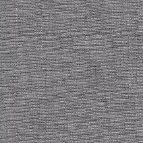 Au Maison - Voksduk metervare lin steel grey