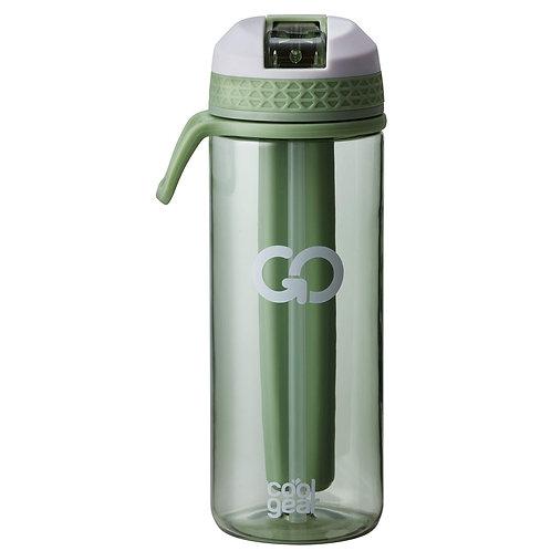 Coolgear - Go drikkeflaske m/ freezer gel 0,7L grønn