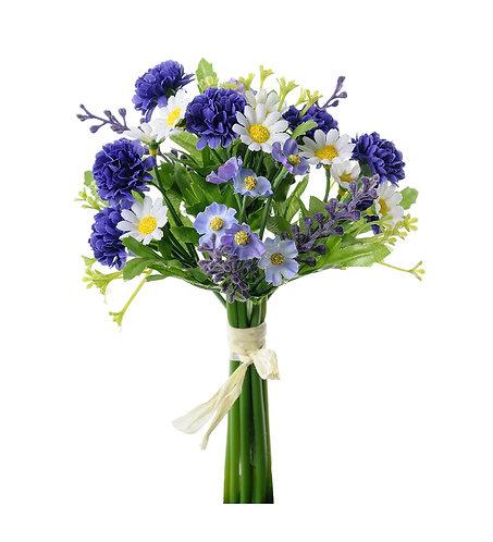 Mr. Plant - Kunstig bukett 20cm blå