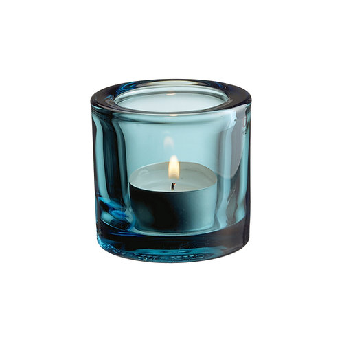 Iittala - Kivi telysholder sea blue