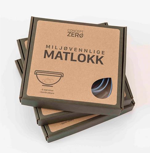 Concept Zero - Matlokk / Silikonlokk 6pk