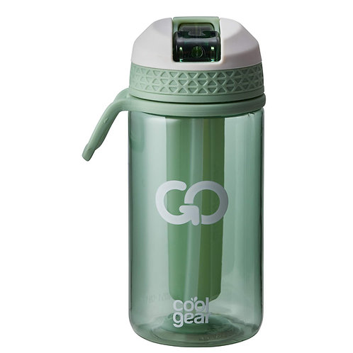 Coolgear - Go drikkeflaske m/ freezer gel 0,5L grønn