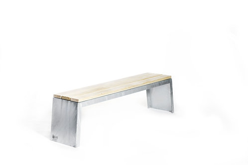 Smed Design - Utebenk galvanisert