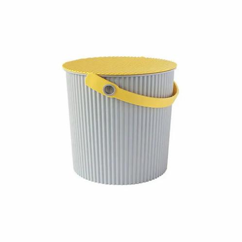 'Hachiman Omnioutil - Bøtte medium 10L grå / gul