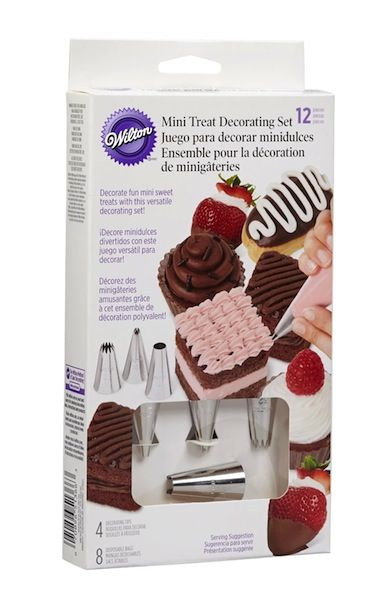 Cacas - Dekoreringssett 12 deler Mini treats