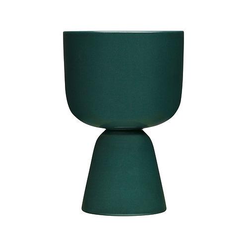 Iittala - Nappula potteskjuler mørkegrønn 23x15,5cm