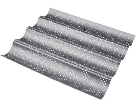 Patisse - Silvertop baguetteform perforert 4stk