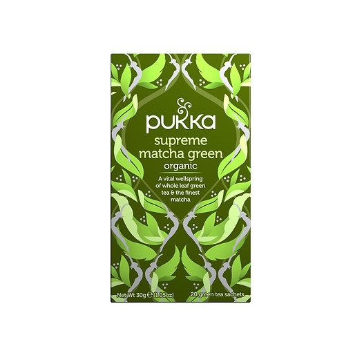 Pukka - Supreme Matcha Green te