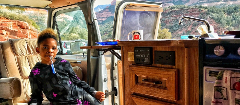 #vanlife @Offthegridwithakid Mom Shares Daily Parking &  Safety Strategies