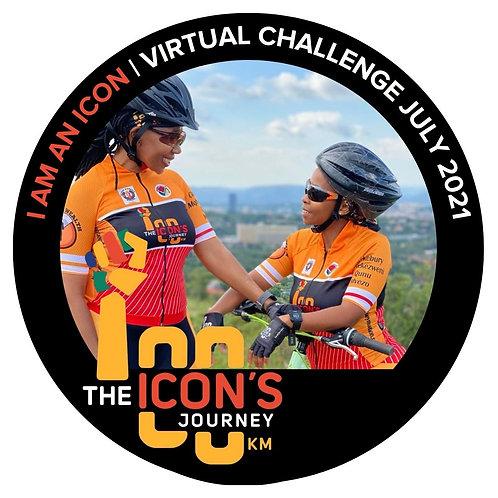 I Am An Icon Virtual Challenge Frame