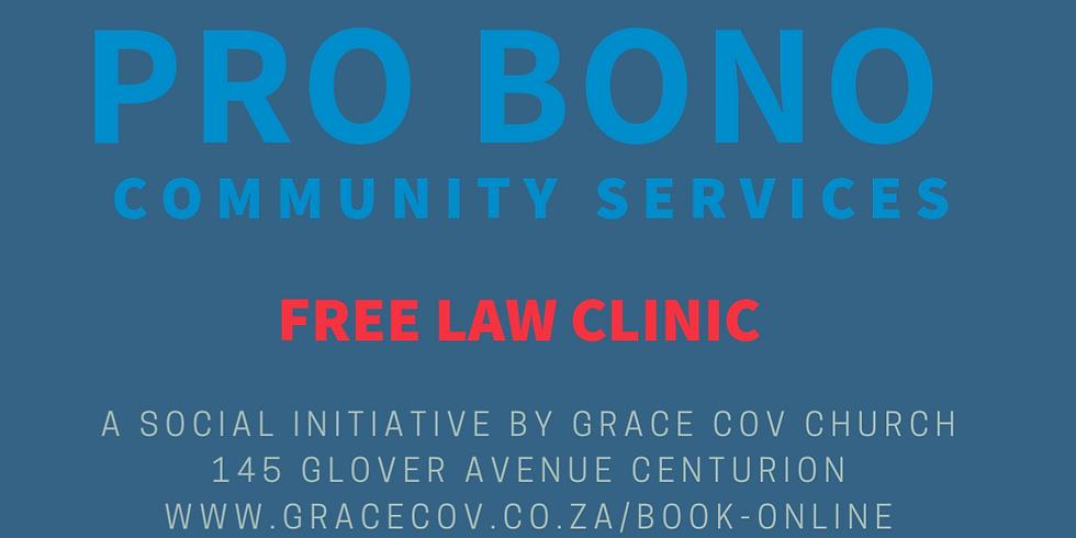 Pro Bono Community Services