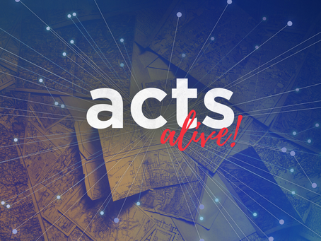 Acts Alive! 12 - Living a life that matters Craig Meyer