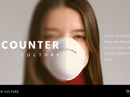 Counter Culture #3 - Blessed are the merciful. Craig Meyer