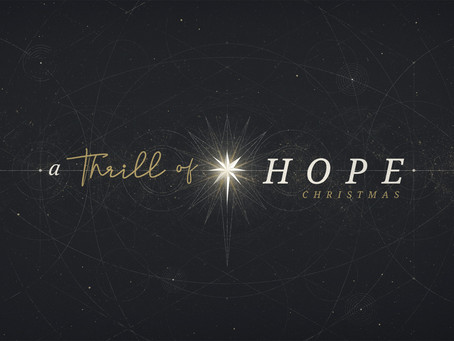 A thrill of hope #6 - Jesus, the foundation of our hope. Amo Mogale