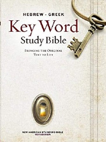 Esv Hebrew Greek Key Word Study Bible