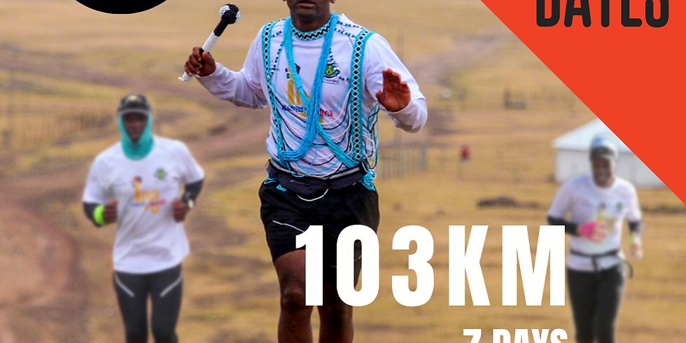 103KM RUN VIRTUAL CHALLENGE