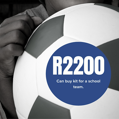 Can buy kit for a school team.