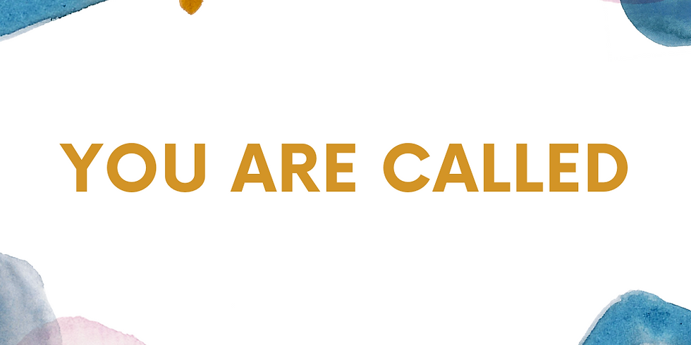 You are Called Online Women's Month Event