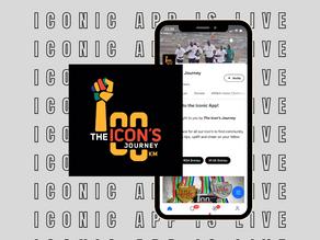 Website & Event Hosting | The Icon's Journey Marathon | App