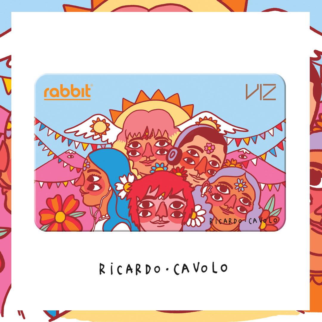 Viz x Rabbit Card 'Ricardo Cavolo'