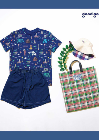 GOOD GOODS collaborated with LOOKPAT & DEE