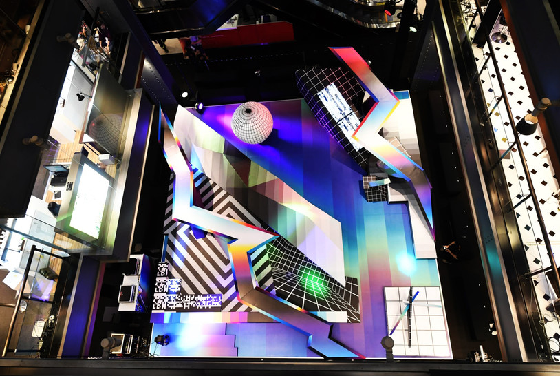 Siam Center Presents Felipe Pantone W3-Dimensional & Current Work Exhibition