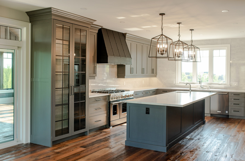 blue mountain custom kitchen