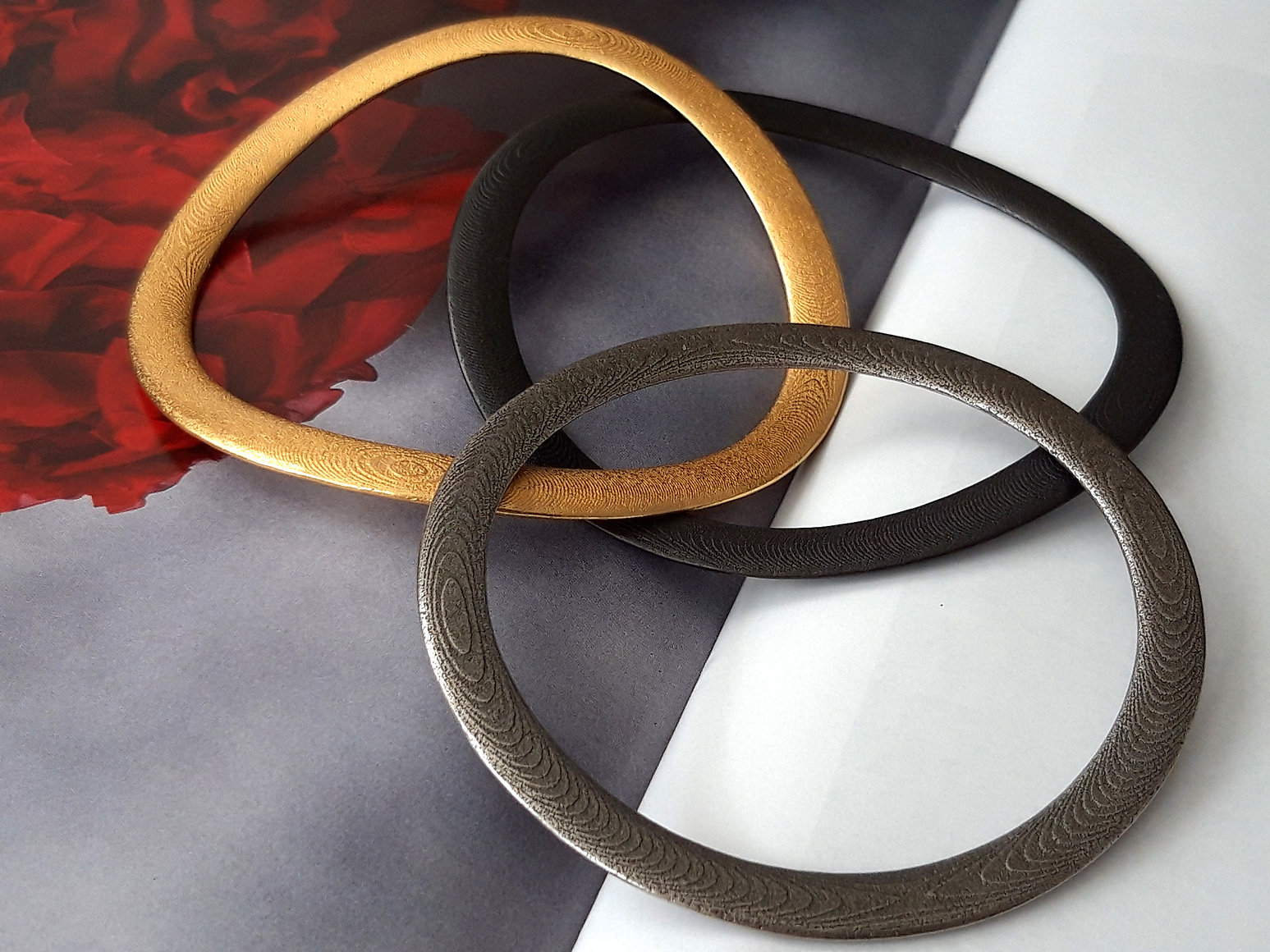Onda Classic Steel Bracelet Gold Silver