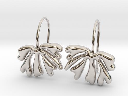 Exotic Leaf Earrings