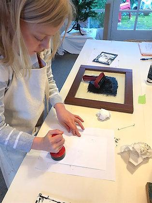 No School All Day Printmaking Workshops