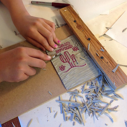 Paper + Printmaking Camp!