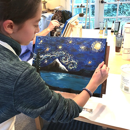 After School Art: Painting the Masters
