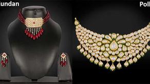Difference Between Kundan and Polki Jewellery