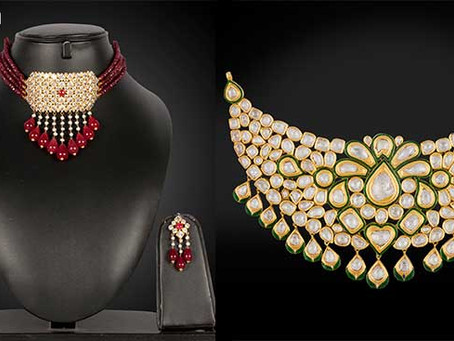 Difference Between Kundan and Polki Jewellery