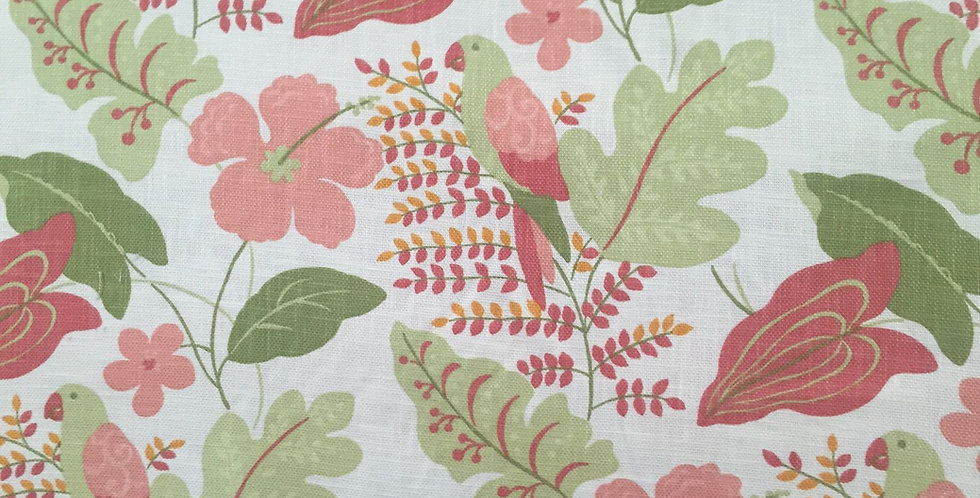 Hibiscus - Parrot - Tropical Floral
