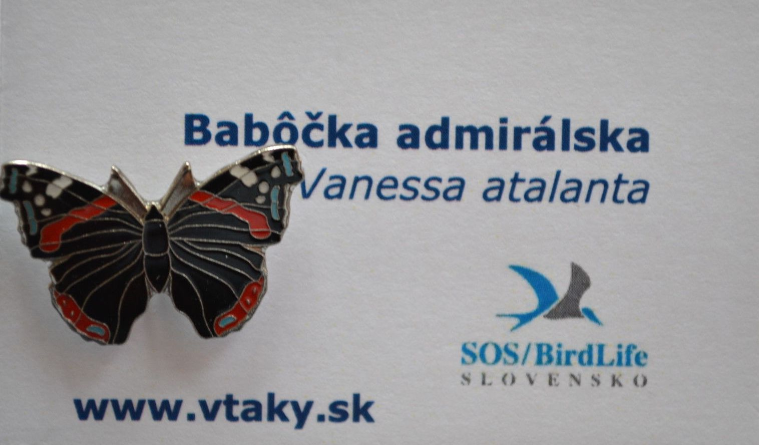 SOS RED ADMIRAL