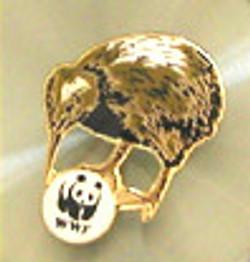 WWF Kiwi Pin