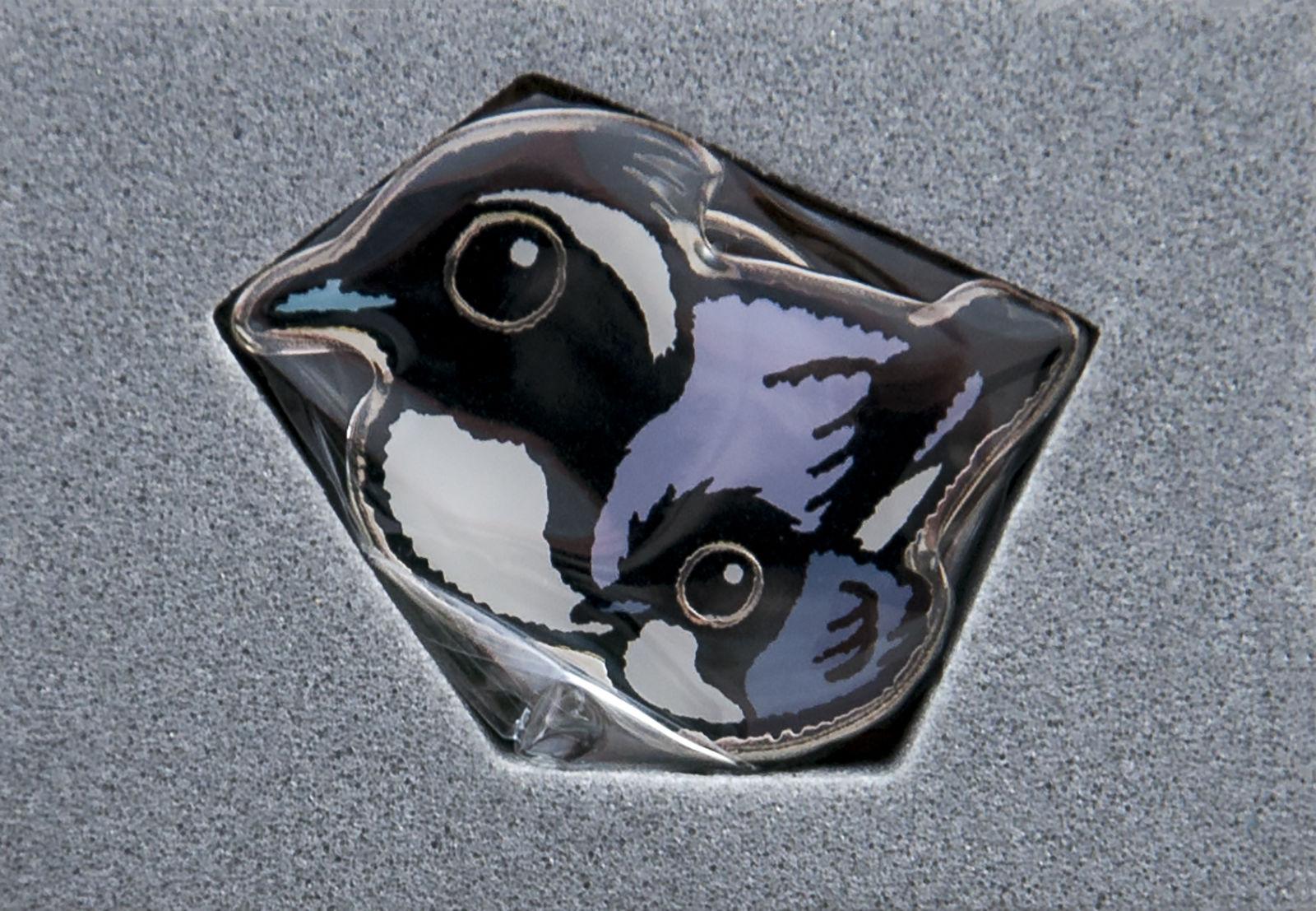 Wild Bird Society of Japan Pin Badge